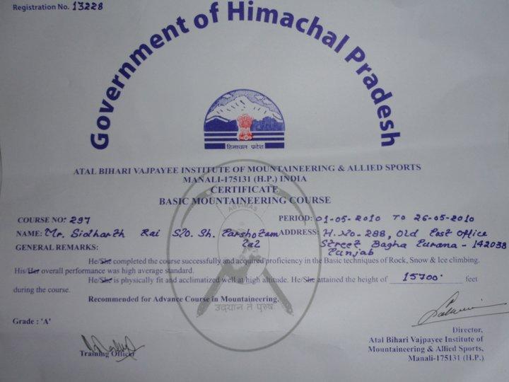 ABVIMAS Certificate